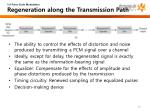 5 6 pulse code modulation regeneration along the transmission path