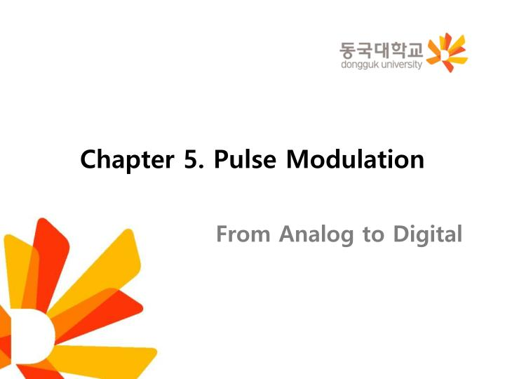 chapter 5 pulse modulation n.