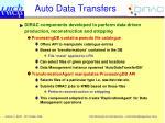 auto data transfers