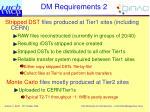 dm requirements 2