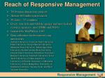 reach of responsive management