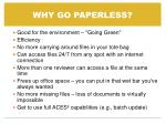 why go paperless