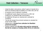 field collection terracore1