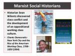 marxist social historians