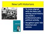 new left historians