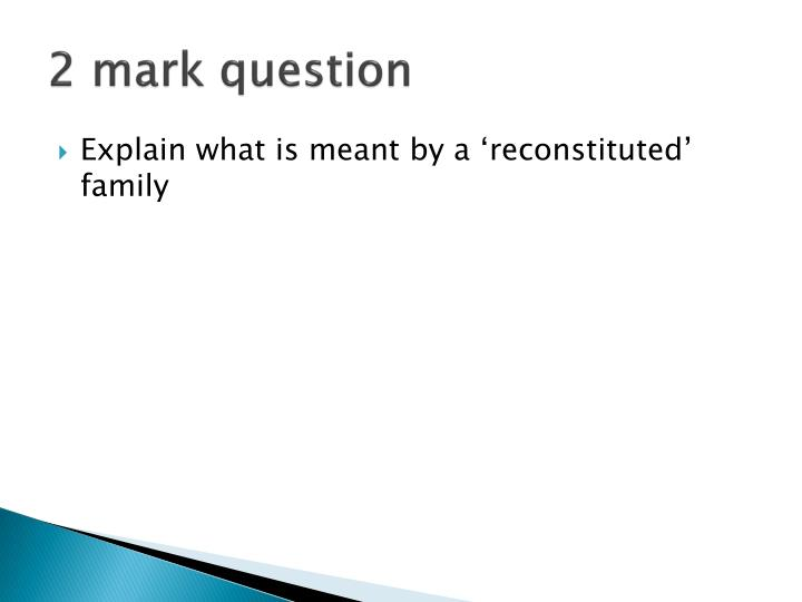 2 mark question n.