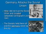 germany attacks the soviet union