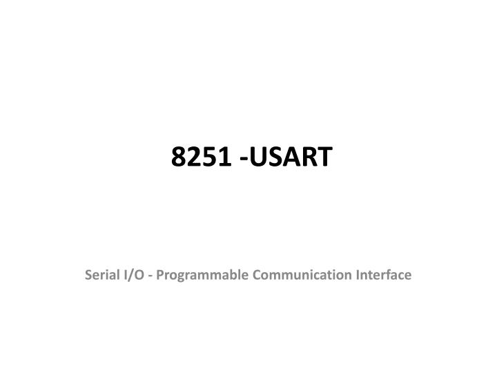 8251 usart n.