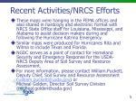 recent activities nrcs efforts2