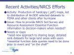 recent activities nrcs efforts3
