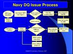 navy dq issue process