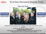 tech data document imaging team