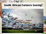 south african farmers leaving
