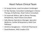 heart failure clinical team