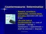 countermeasures determination1