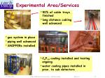 experimental area services