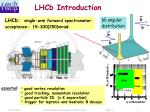 lhcb introduction