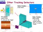 other tracking detectors