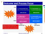 outcome and process focus