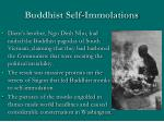 buddhist self immolations