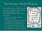the strategic hamlet program