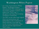 washington white papers