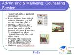 advertising marketing counseling service