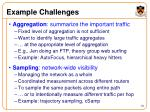 example challenges