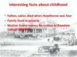 interesting facts about childhood