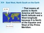 east west north south on the earth3