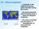 what is longitude