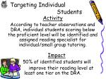 targeting individual students1