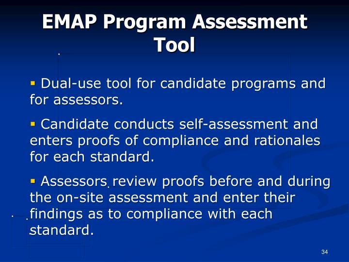 EMAP Program Assessment Tool