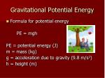 gravitational potential energy1