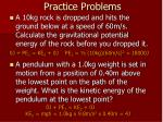 practice problems2