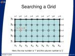 searching a grid