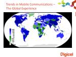 trends in mobile communications the global experience