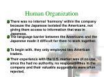 human organization5