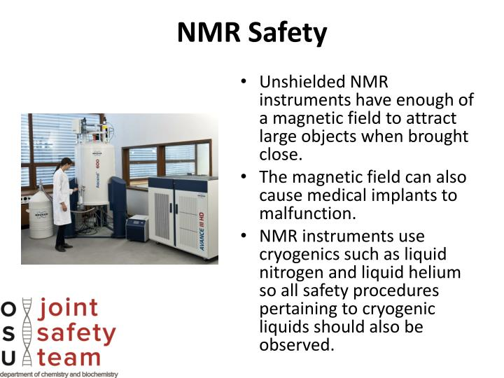 nmr safety n.