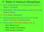 f battle of antietam sharpsburg