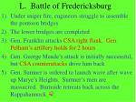 l battle of fredericksburg