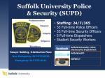 suffolk university police security supd