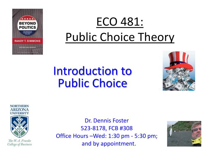 eco 481 public choice theory n.