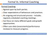 formal vs informal coaching1