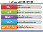 i grow coaching model