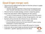 sasol engen merger cont