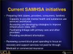 current samhsa initiatives