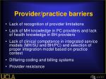 provider practice barriers1
