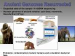 ancient genomes resurrected
