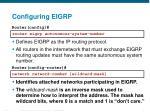 configuring eigrp1